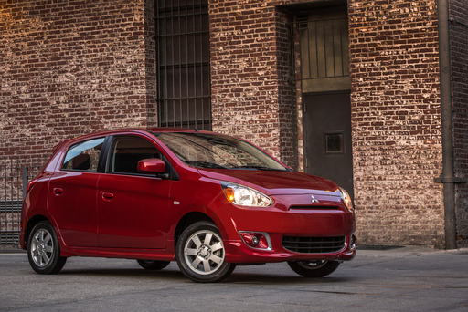 Mitsubishi Motors North America, Inc. (MMNA) has unveiled the remarkably fuel-efficient all-new 2014 Mitsubishi Mirage 5-door subcompact at the 2013 New York International Auto Show