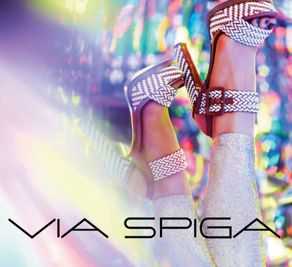 Via Spiga Spring 2013 advertising campaign featuring the Georgette shoe