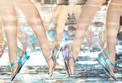 Via Spiga Spring 2013 advertising campaign featuring the Leanne shoe