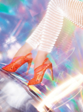 Via Spiga Spring 2013 advertising campaign featuring the Pheobe shoe