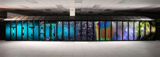 Titan, the world's fastest supercomputer, leverages the world's fastest file storage system from DDN to deliver more than 27,000 trillion calculations per second.