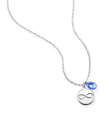 The new Avon Empowerment Charm Necklace raises funds to end domestic violence with 100% of proceeds supporting the Avon Speak Out Against Domestic Violence program.