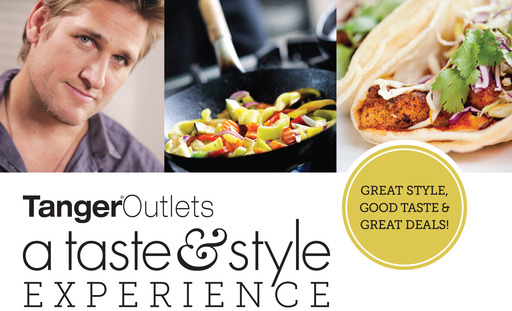 Tanger Outlets & Curtis Stone team up with local food trucks for the Taste and Stye Event