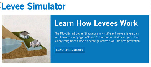 Learn how levees work and the different ways they can fail: Levee