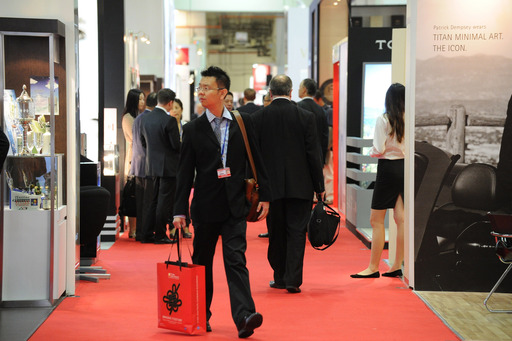 Record numbers of visitors browsed the stands at the TFWA Asia Pacific Exhibition 2013