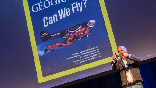 VIP Speaker Yves (Jetman) Rossy at ATC Global 2013 Excellence Awards