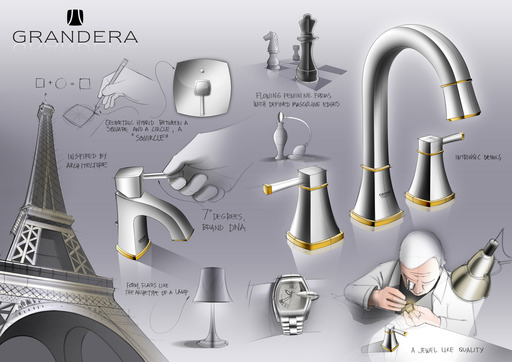 Classic elegance has a new name: GROHE Grandera