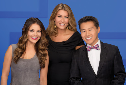 HGTV Star Panelist Group Shot (left to right: Sabrina Soto, Genevieve Gorder and Vern Yip)