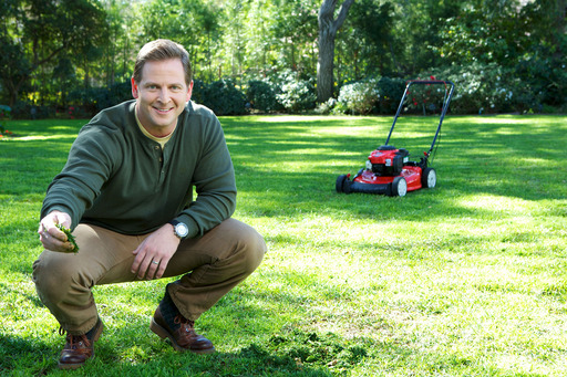 When mowing, return grass clippings back to the soil for added lawn nutrients and natural lawn care.
