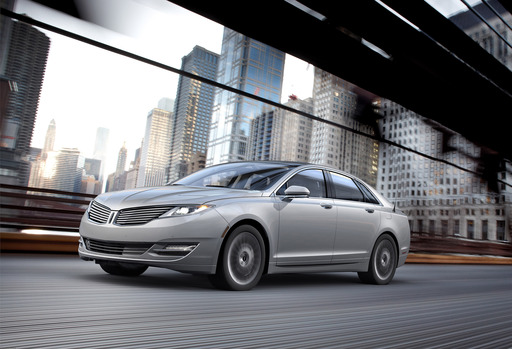 2013 Lincoln MKZ Hybrid: From the hybrid powertrain to the MyLincoln Touch infotainment system to the sleek, coupe-like profile, Lincoln's gas/electric mid-size sedan is as contemporary a vehicle we've seen from the automaker in a long time.