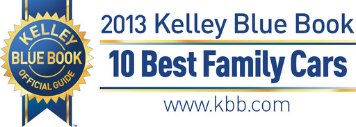 Visit KBB.com to see the 10 Best Family Cars of 2013.