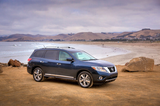 The 2013 Nissan Pathfinder was named No. 1 on KBB.com's list of the 10 Best Family Cars of 2013.