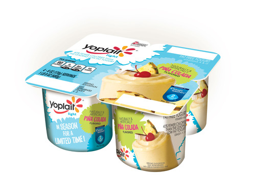 Yoplait Piña Colada 3D