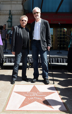 "Frankie Valli & Bob Gaudio at ""Las Vegas Walk of Stars"" unveiling at Paris Las Vegas © Denise Truscello"