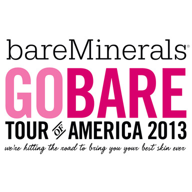 bareMinerals GO BARE Tour of America Logo