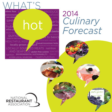 Hottest restaurant menu trends for 2014