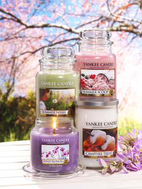 Inspired by nostalgic summer memories, Yankee Candle launches four new summer fragrances for 2013.