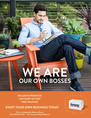 We are our own bosses