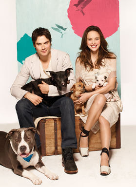 Josie Maran and Ian Somerhalder, 2013 Model Citizen Campaign.