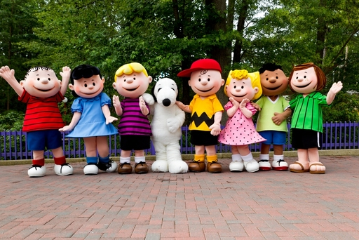 Snoopy and the rest of the PEANUTS gang welcome you to the Bigger, Better Planet Snoopy at Kings Dominion!
