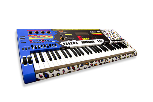 Casio's new limited edition XW-G1 synthesizer created by design duo, Dee & Ricky Jackson.