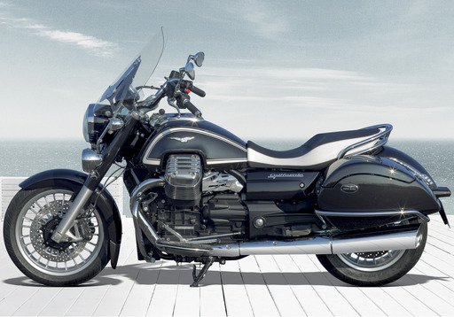 2014 Moto Guzzi California 1400 Touring ABS Beach View