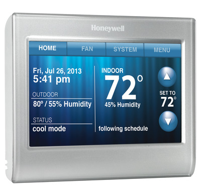 Honeywell Wi-Fi Smart Thermostat: Color, Comfort, Control and Energy Savings