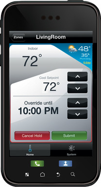 Honeywell Wi-Fi Smart Thermostat: Mobile App Means 24/7 Control