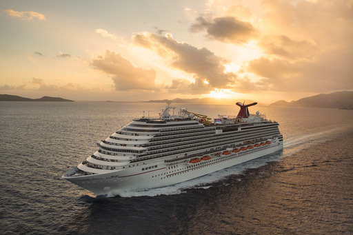 Carnival Breeze is the newest addition to the line's fleet.  The company's 24 Fun Ships carry nearly 4.5 million guests on approximately 1,500 voyages each year (Photo by: Carnival Cruise Lines)