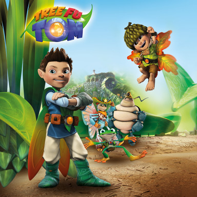Meet Tree Fu Tom & Friends on Sprout beginning April 22nd