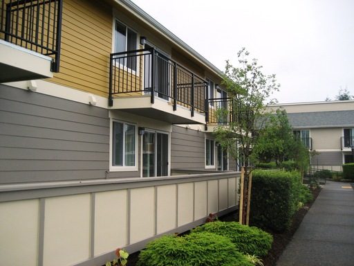 Cambridge Apartments renovation included all units, common areas and exterior