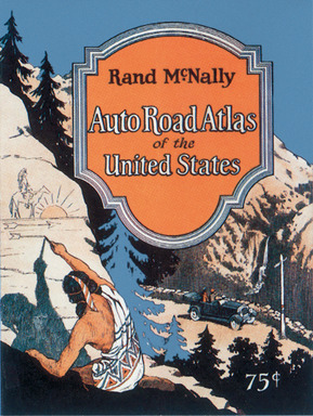 "Rand McNally's first Road Atlas was produced in 1924, called the ""Auto Chum"""