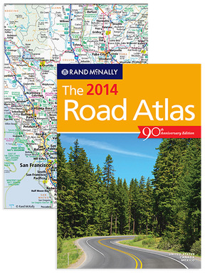 New 2014 Road Atlas is available in e-reader formats!
