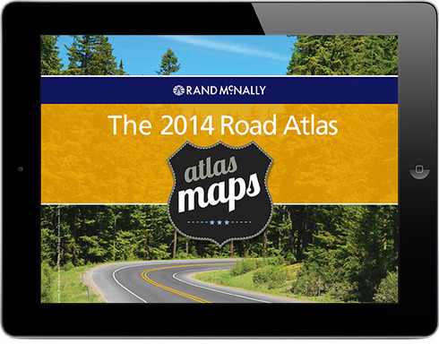 The 2014 Road Atlas is now available for iPad!