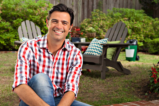 Designer John Gidding and the Terminix ALLCLEAR Backyard Mister