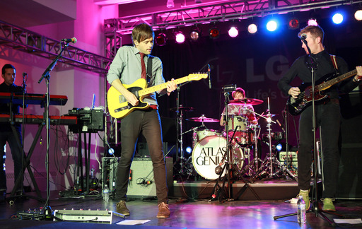 Atlas Genius rocks NYC at the Share The Genius U.S. launch event for LG Optimus G Pro