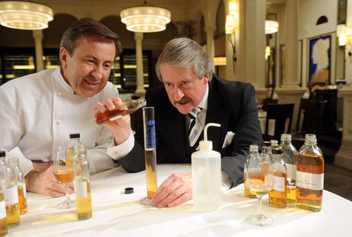 Daniel Boulud and Richard Paterson collaborate to create a Dalmore single malt specific to the taste profile of Chef Boulud's cuisine