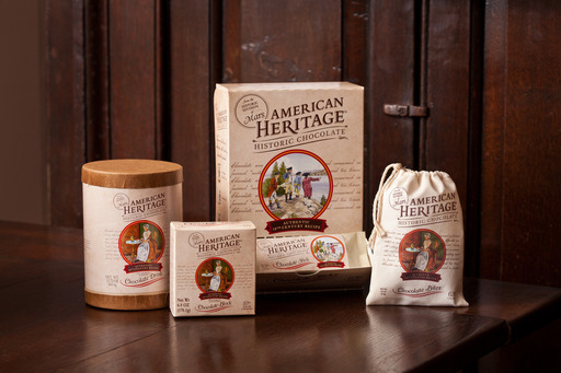 American Heritage Chocolate debuts an expanded collection of authentic colonial chocolates—now available in four unique formats—for drinking, baking and eating on the go