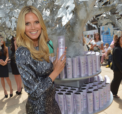 Heidi Klum and her strong, beautiful hair declare a hair care revolution with a call to work at the scalp, where it matters most, with CLEAR SCALP & HAIR BEAUTY THERAPY.