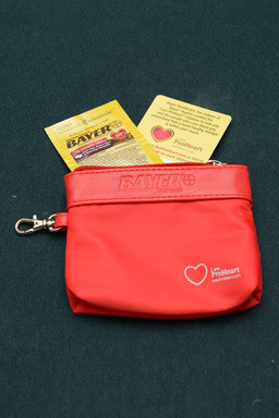 Can what's in a woman's handbag help save her life? Bayer and WomenHeart urge women to visit HandbagsAndHearts.com to pledge to carry aspirin in their handbags to be prepared for a heart attack.