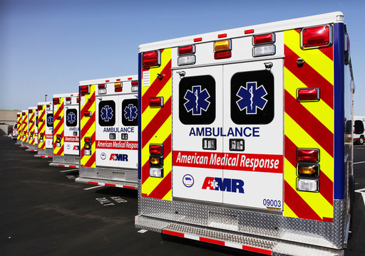AMR provides services ito over 2100 communities across the country and transports over three million patients each year.
