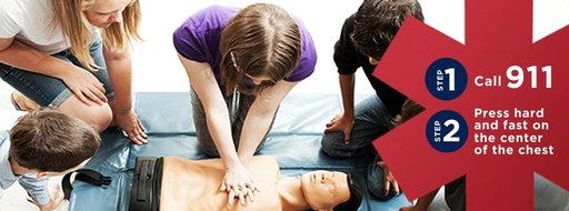 The more people who learn CPR, the more lives that can be saved