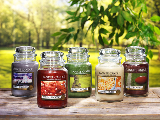 Back by popular demand, Yankee Candle's Man Candles II collection features two new scents and three returning fragrances.