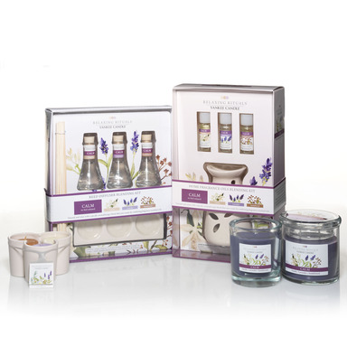 Relaxing Rituals™ offers a variety of options for creating a fragrance relaxation experience