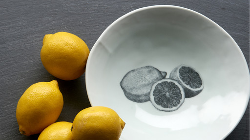 Garden to Table Ideal Lemon Bowl from Heirloom Home and Studio