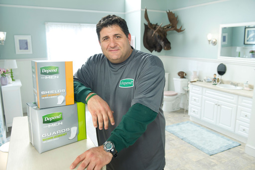 Tony Siragusa has teamed up with Depend for Guard Your Manhood and is training men with light bladder leakage to get back in the game with tips and tools, including new Depend Guards and Shields.