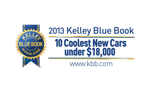 Kelley Blue Book editors rank this year's top picks for affordable new rides boasting ''cool factor.''