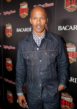 Jamie Foxx at the Rolling Stone hosted BACARDI Rebels Concert Event on Cuban Independence Day