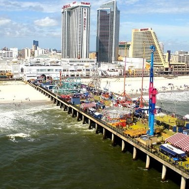 Atlantic City's Steel Pier