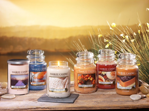 Six New Fall Yankee Candle Fragrances